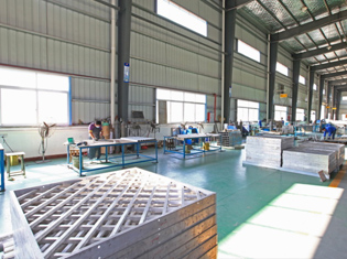 Stainless-steel workshop
